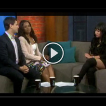 Melanie stops by CP24 / Jan. 25, 2015