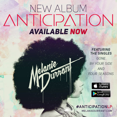 new album, Anticipation, available on iTunes